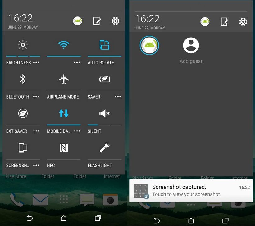 HTC One M9 mode invite