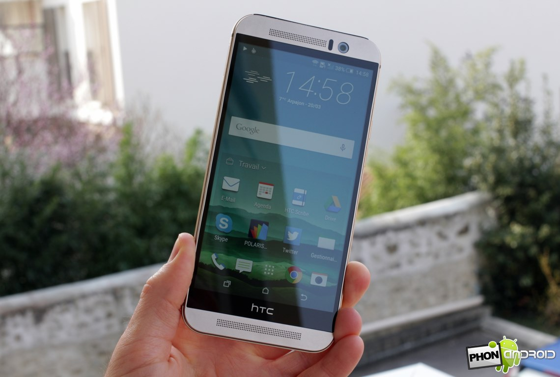 HTC One M9 mise a jour