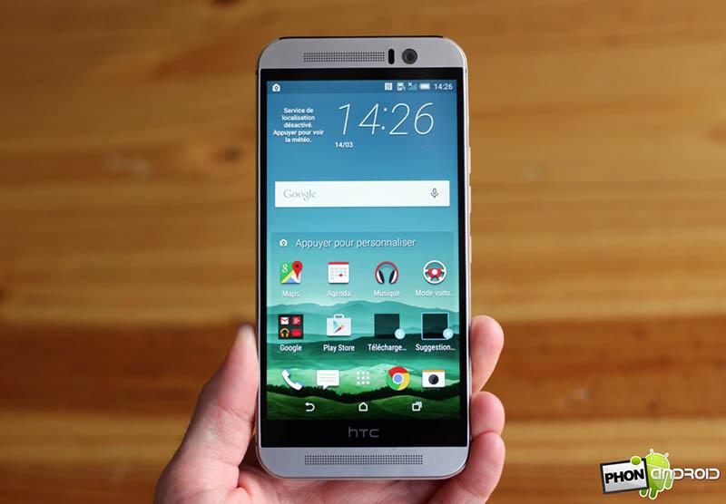 Les mauvaises ventes du HTC One M9 menacent HTC
