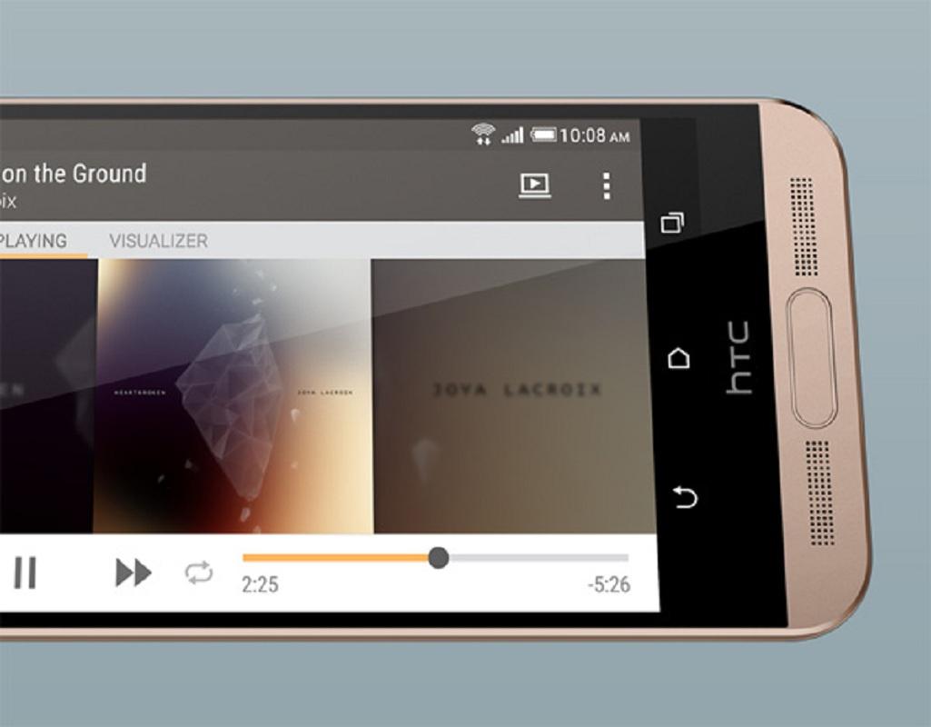 Écran du HTC One ME