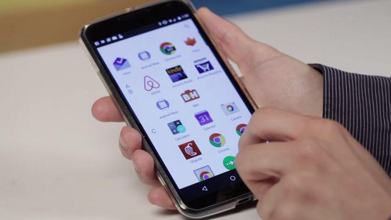installer tiroir applications Android M