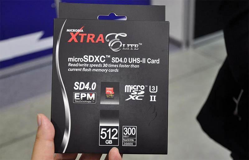 microdia xtra elite microsd 512 go
