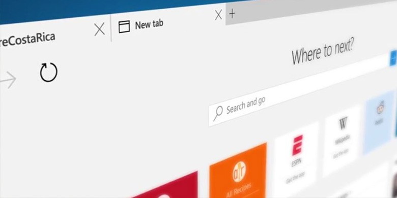 microsoft edge exploitation donnees
