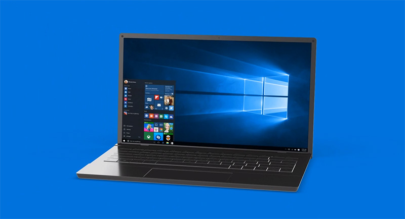 fond ecran officiel windows 10
