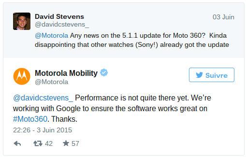 Moto 360 retard