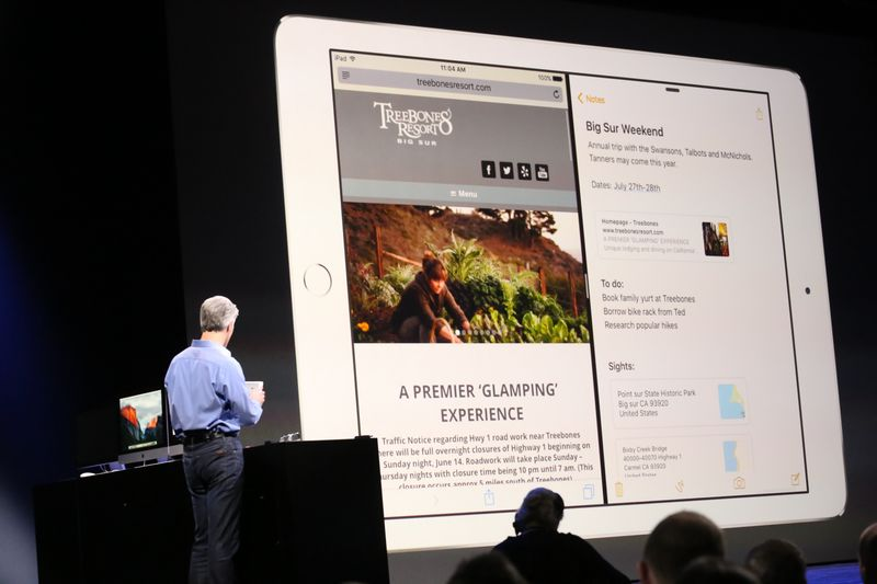iOS 9 multifenetres