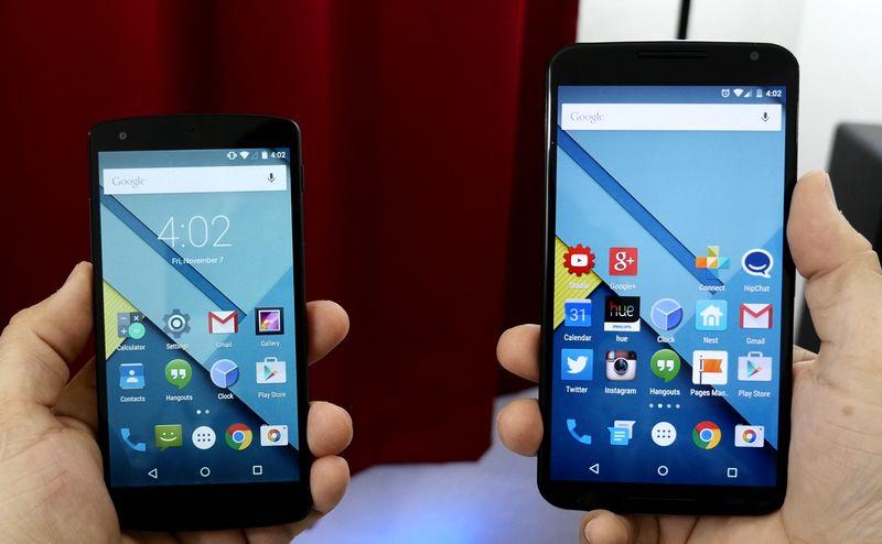 Nexus 5 Nexus 6