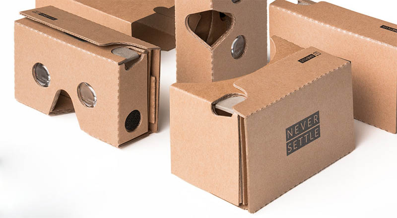 oneplus 2 presentation cardboard