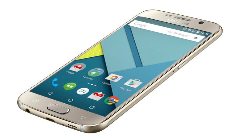 Samsung Galaxy S6 stock Android