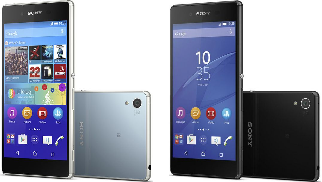 Sony Xperia Z3+ precommande
