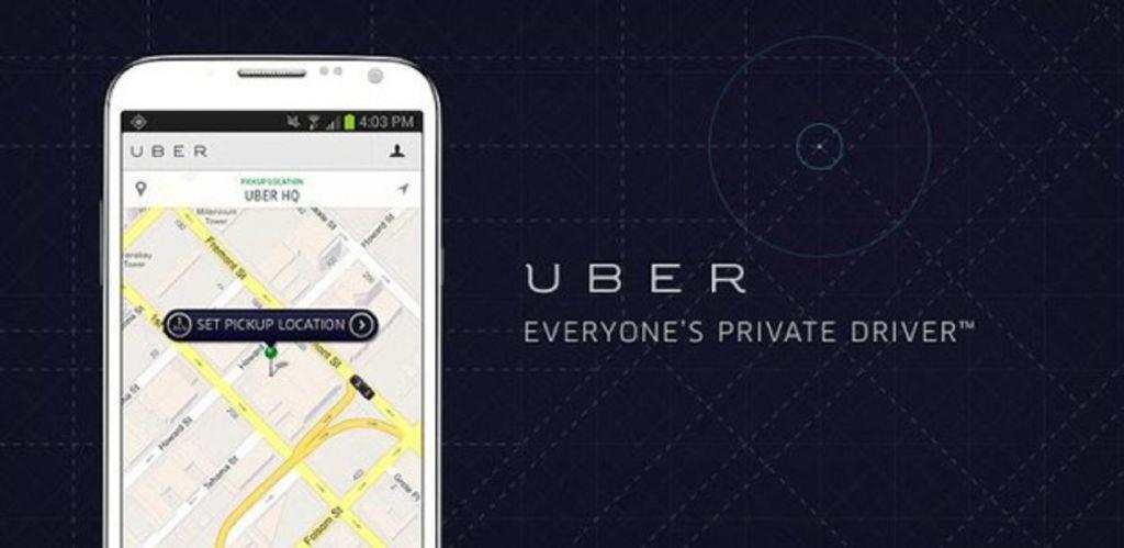 Logo et slogan de la société Uber