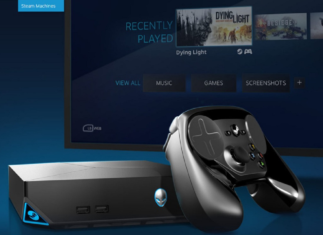 Console Steam Machines et manette