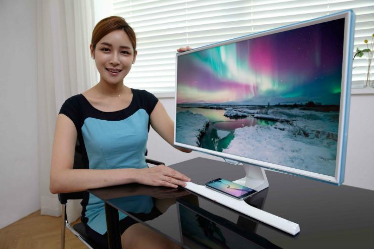 Samsung écran recharge sans fil