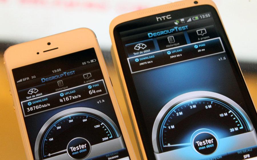 4g debit couverture bouygues telecom free mobile