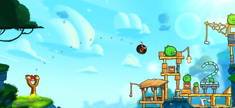 Angry Birds 2 lancer