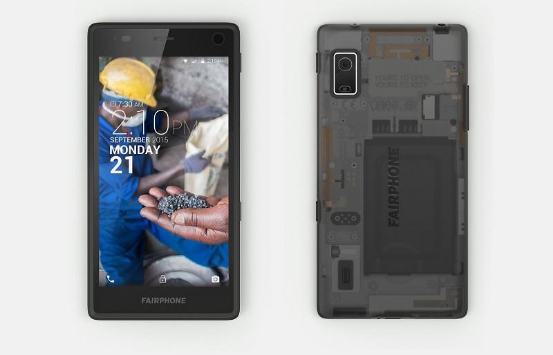 Fairphone 2 assemblé pré-commande