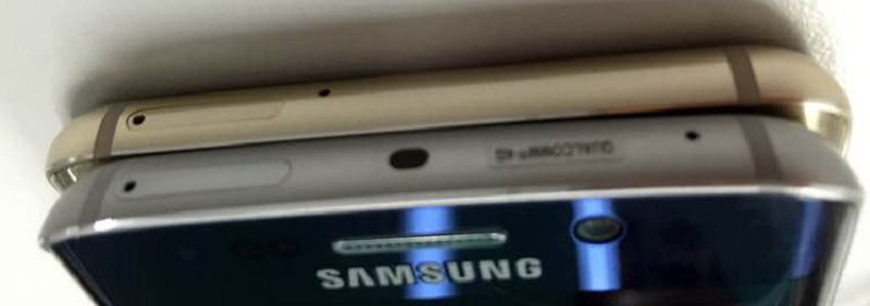 Galaxy S6 Edge + doré photos haut