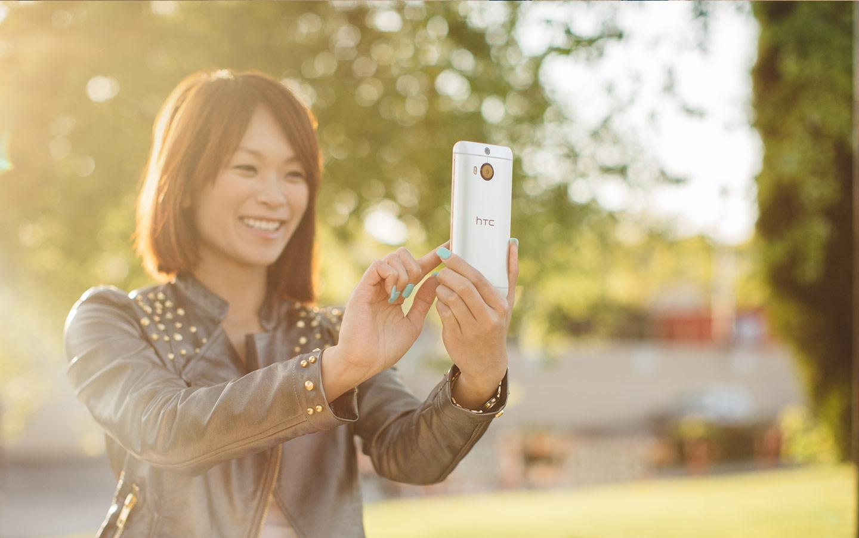 HTC One M9+ camera