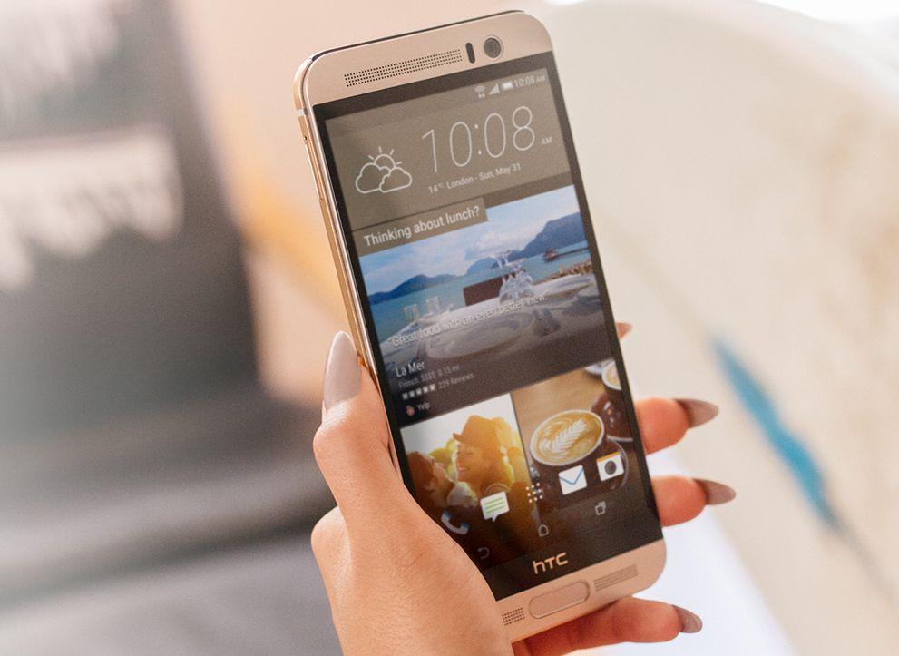 HTC One M9+ ecran