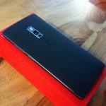 OnePlus 2 verso et boîte