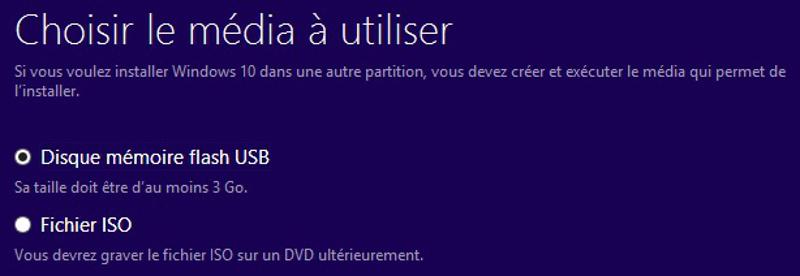 Windows 10 mise à jour immédiate
