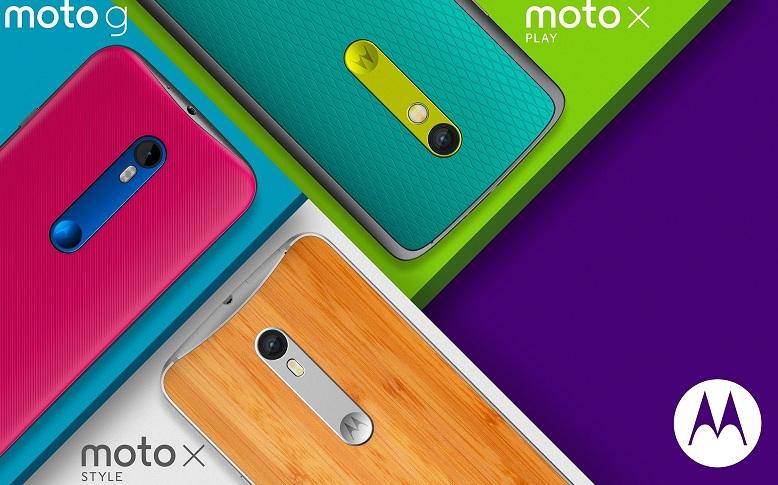 Moto X et G