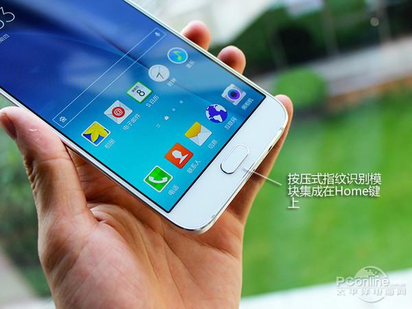 Galaxy A8 bouton Home