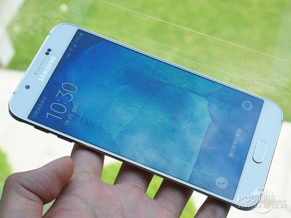 Galaxy A8 face