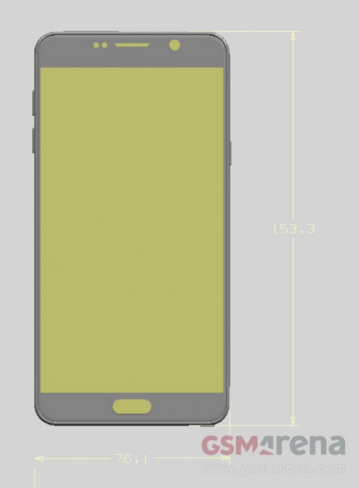 Galaxy Note 5 bouton Home