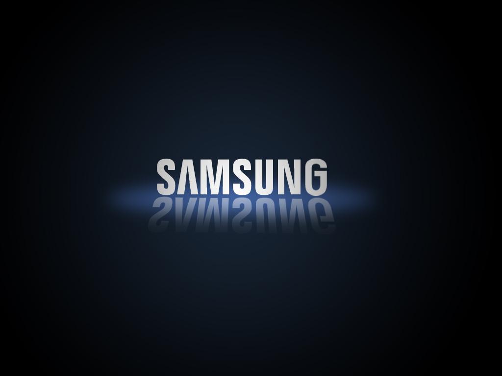 Samsung Logo Black Background