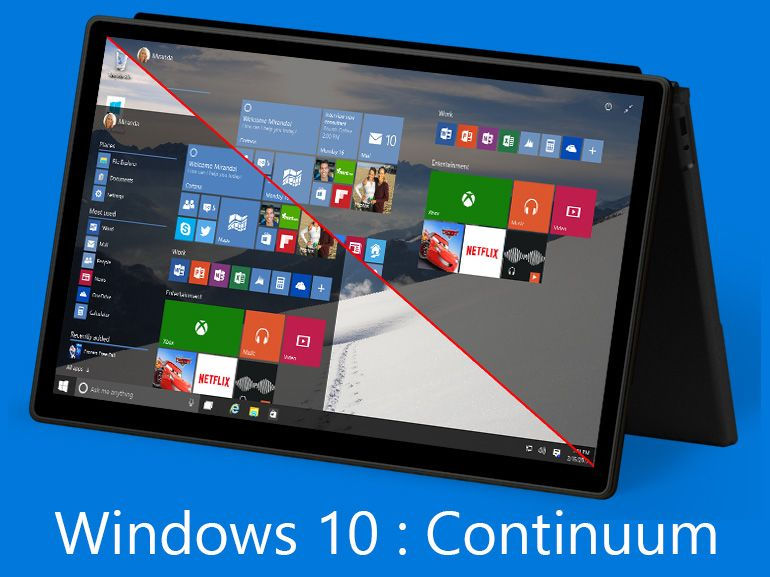 Windows 10 Continuum