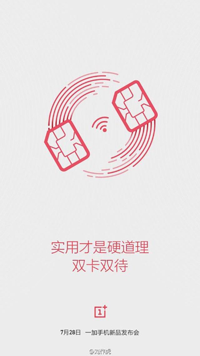 OnePlus 2 affiche dual-SIM