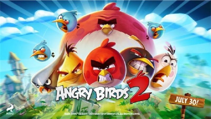 Angry Birds 2 lancement 30 juillet