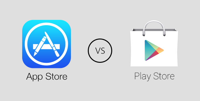 Apple App Store Google Play