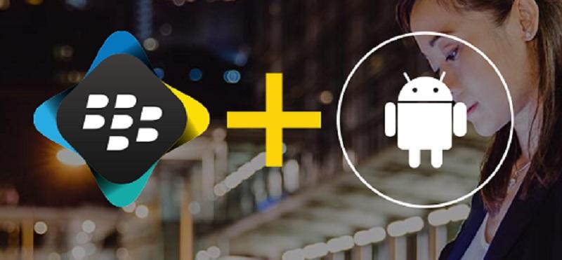 Blackberry Google partenariat Android
