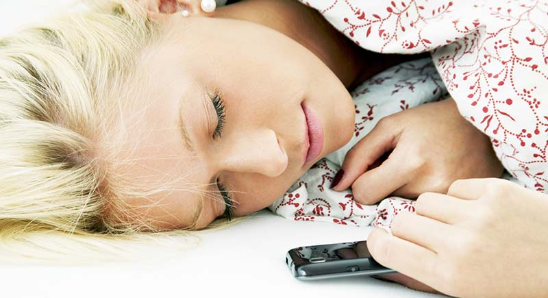 dormir smartphone main