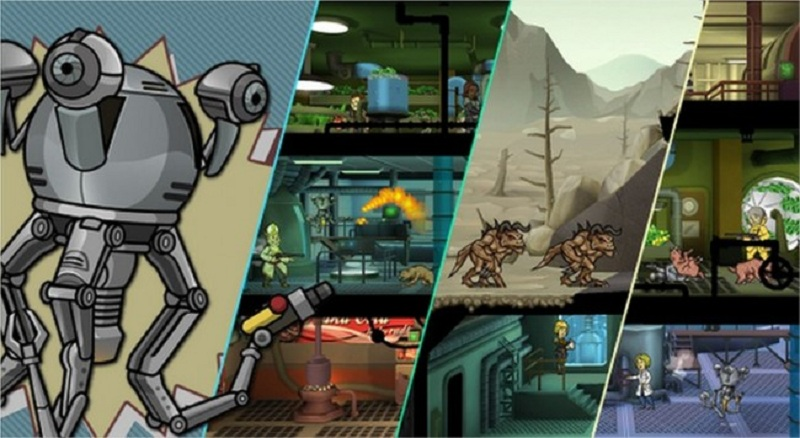 Fallout Shelter affiche jeu Android
