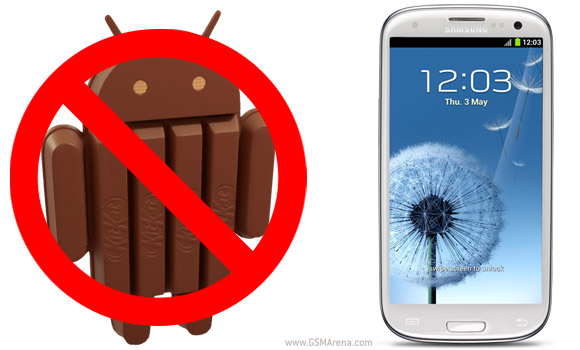 Galaxy S3 Android KitKat