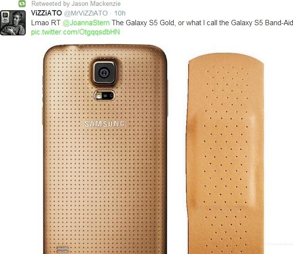 Galaxy S5 HTC