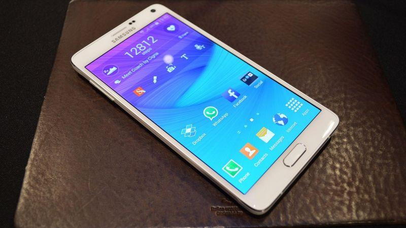 Galaxy Note Android 5.1.1 Lollipop