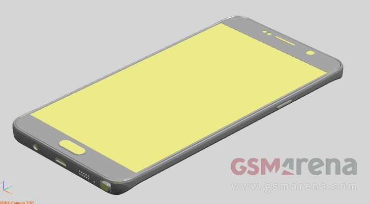 Galaxy Note 5 face