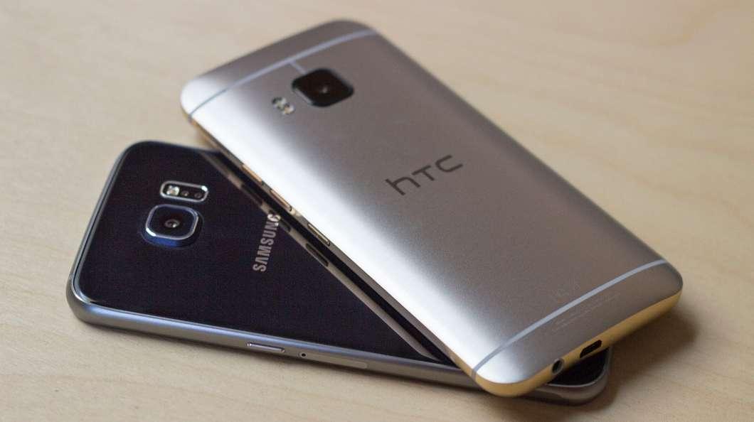 Galaxy S6 HTC One M9