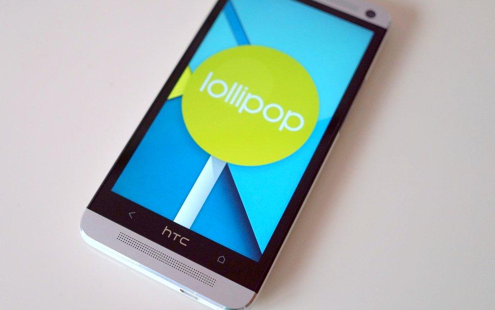 HTC One M7 Lollipop