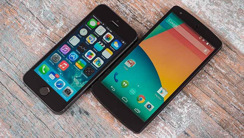 iphone 5s nexus 5 edito