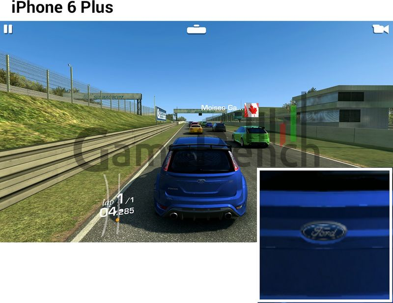 iPhone 6 Plus Real Racing 3