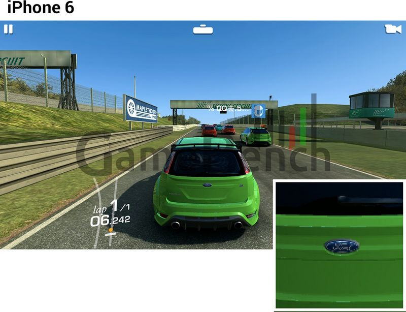 iPhone 6 Real Racing 3