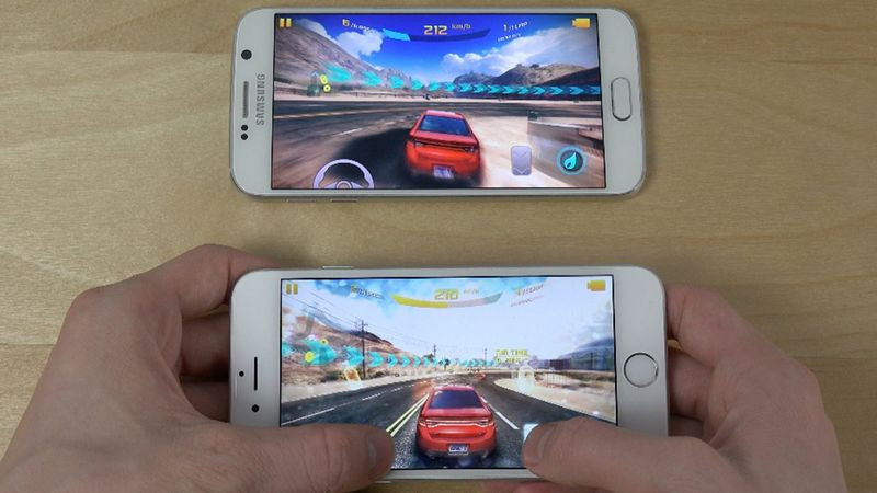 iPhone 6 Galaxy S6 jeux