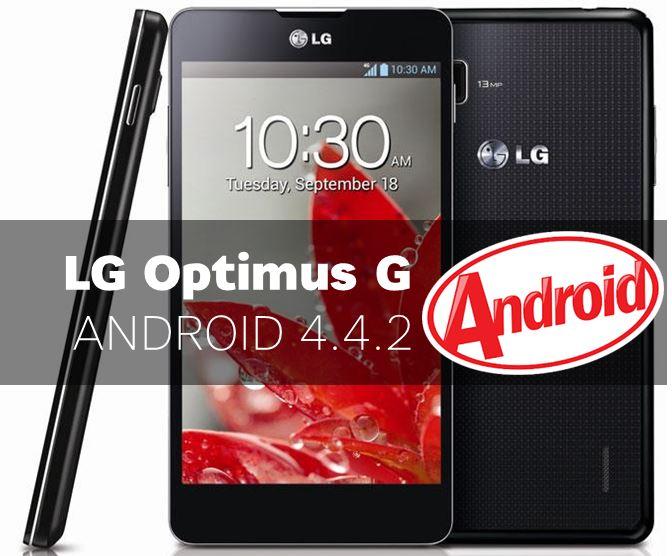 LG Optimus G Android KitKat