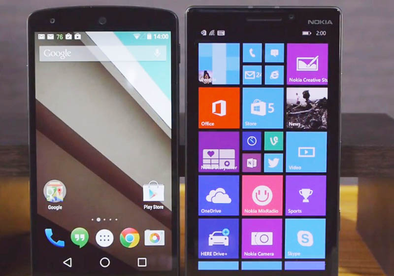 microsoft pdg windows phone android ios