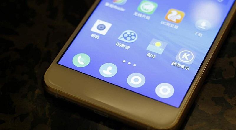 Ramos Mos1 flagship premier smartphone icônes